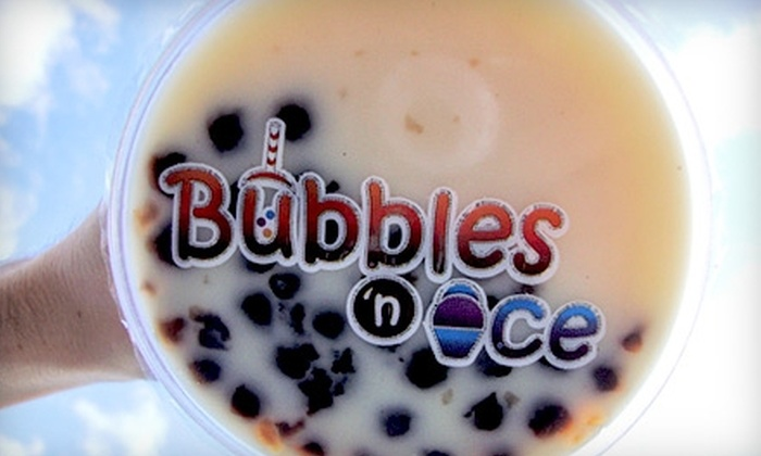 Bubbles 'n Ice - Eastern Shores: $4 for $8 Worth of Bubble Tea and Italian Ice at Bubbles 'n Ice