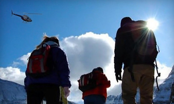 Icefield Helicopter Tours - Nordegg: $129 for Helicopter Tour and Snowshoe Outing from Icefield Helicopter Tours in Clearwater County ($259 Value)