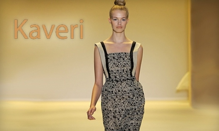 Kaveri - DePaul: $49 for $100 Worth of Women's Clothing and Accessories at Kaveri