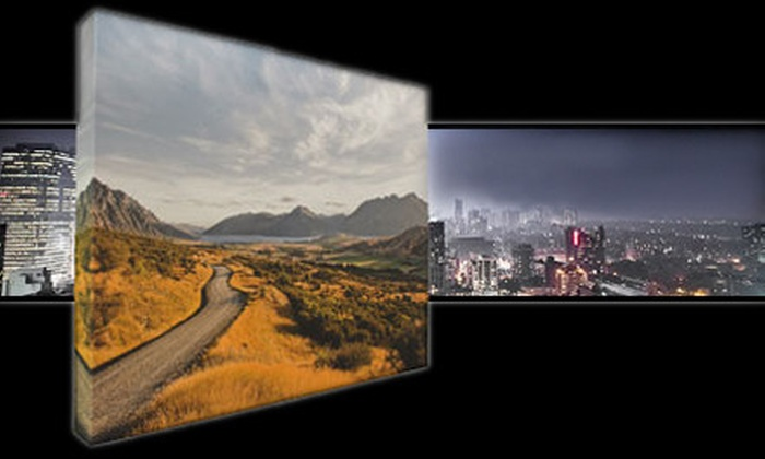 """44 Wide: One or Two 16""""x20"""" or 24""""x36"""" Gallery-Wrapped Canvases Including Shipping from 44 Wide (Up to 67% Off)"""