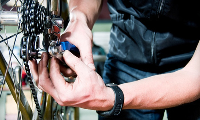 Joyride Cycles - North End: Basic Bike Tune-Up with Option for Fork Overhaul Service at Joyride Cycles (Up to 54% Off)