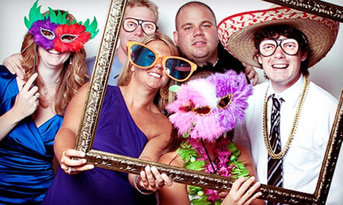 Ovation Pix - Providence: $599 for a Three-Hour Photo-Booth Rental Package with Video Mode from Ovation Pix ($1,200 Value)