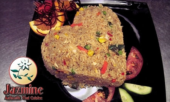 Jazmine Thai - West Chester: $15 for $35 Worth of Authentic Thai Cuisine and Drinks at Jazmine Thai
