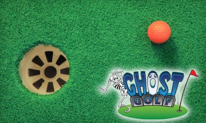 Ghost Golf - Downtown Concord: $14 for Four Rounds of Minigolf at Ghost Golf in Concord ($28 Value)