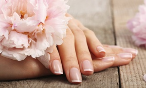 Rich flowers ladies beauty centre: One or Three Sessions of Manicure and Pedicure at Rich Flowers Ladies Beauty Centre (Up to 61% Off)