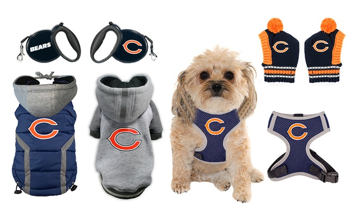 sports shoes c1c19 ab94e NFL Chicago Bears Pet Collection | Groupon Goods