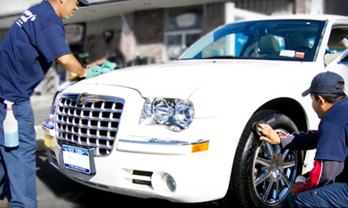 Some Guy's Car Wash - Long Island: $12 for an Ultimate Car Wash at Some Guy's Car Wash ($26.99 Value)