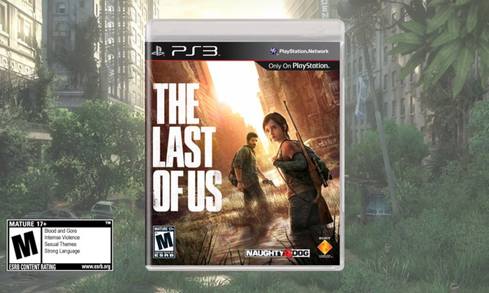 The Last of Us for PlayStation 3 and $10 in Groupon Bucks: $59.99 for The Last of Us for PlayStation 3 Plus $10 in Groupon Bucks ($69.99 List Price). Free Shipping.