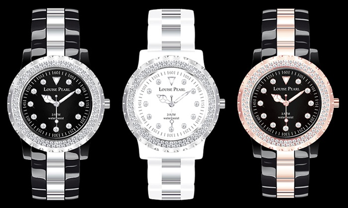 montre swarovski femme groupon. Black Bedroom Furniture Sets. Home Design Ideas