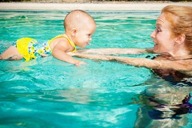 Kinder Swimmer: One Month of Swim Lessons from Kinder Swimmer Vero Beach (50% Off)