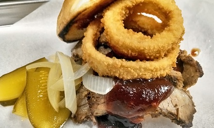 Barbeque for Two or Four at Angry Barbeque (Up to 37% Off)