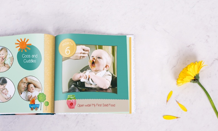 40-Page Hardcover Photobook in Choice of Size from Photobook UK (Up to 83% Off)