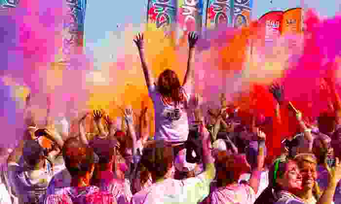 Run or Dye - Mt. Airy: Colorful 5K Race Entry for One or Two at Run or Dye (Up to $94 Value)