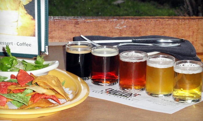 Faultline Brewing Company - Sunnyvale: $11 for Two FBC Five-Flight Beer-Samplers and One Appetizer at Faultline Brewing Company (Up to $23.45 Value)