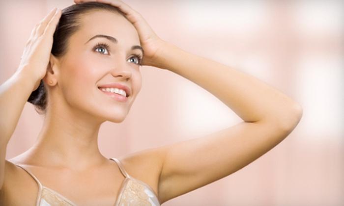 Amerejuve MedSpa - Multiple Locations: Three Laser Hair-Removal Treatments on Select Small, Medium, or Large Areas at Amerejuve MedSpa