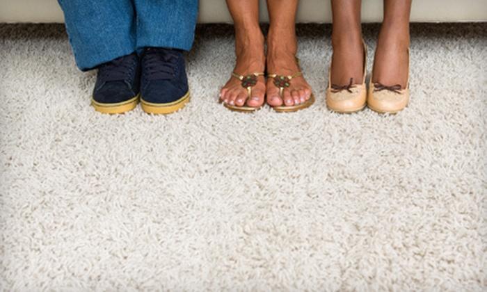 Sparkling Klean Services - Central City: Carpet or Upholstery Cleaning from Sparkling Klean Services (Up to 76% Off)