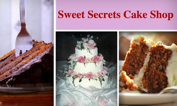 Sweet Secrets Cake Shop - Northwest Side: $10 for a 9-Inch, Two-Layer Cake From Sweet Secrets Cake Shop (up to $20 Value)