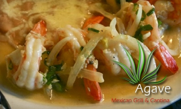 Agave Mexican Grill & Cantina - Parkville: $10 for $20 Worth of Mexican Fare and Drinks at Agave Mexican Grill & Cantina in Parkville