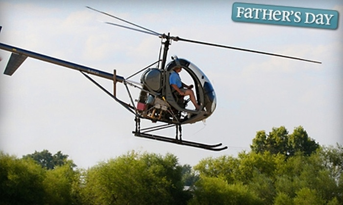 Bachman Aero - Schaumburg: $149 for One Helicopter Lesson or Ride at Bachman Aero in Schaumburg ($295 Value)