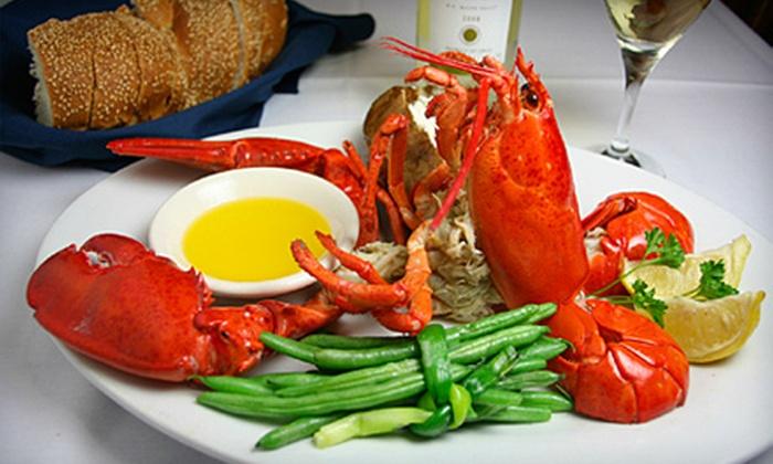 Porthole Restaurant - Lynn: $20 for $40 Worth of Surf 'n' Turf Dinner at Porthole Restaurant in Lynn