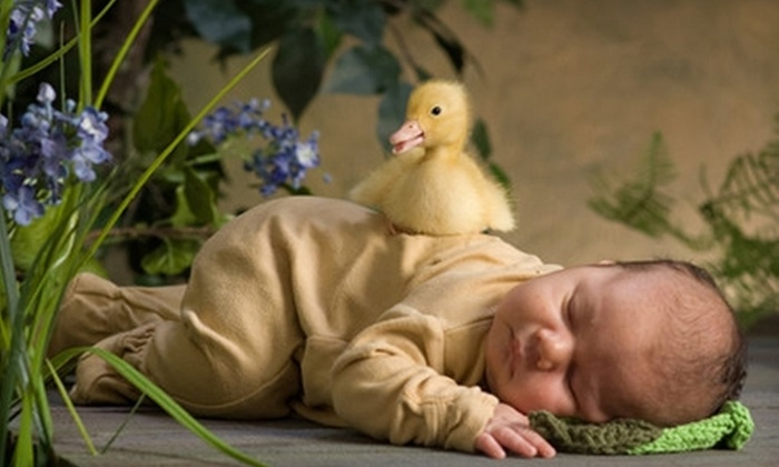 JS Photography - Gainesville: $69 for a Children's Ducky Photo Shoot and $100 Photo Credit at JS Photography