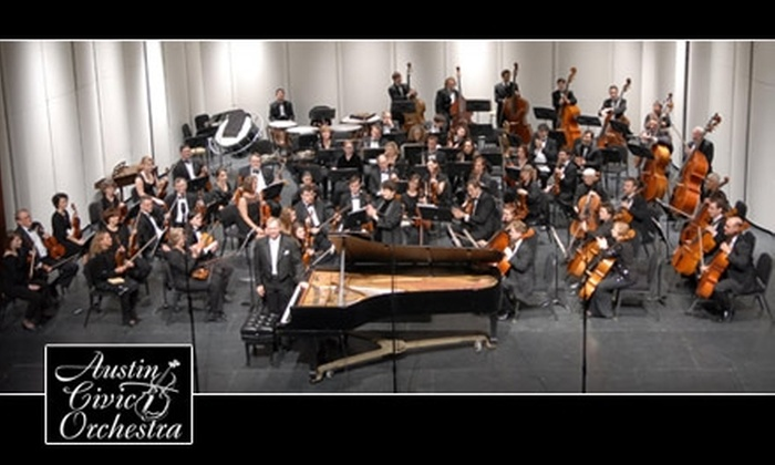 Austin Civic Orchestra - Southwetern University: $12 for Two Tickets to the Austin Civic Orchestra's Winter Concert on Saturday, February 5 at 7:30 p.m.
