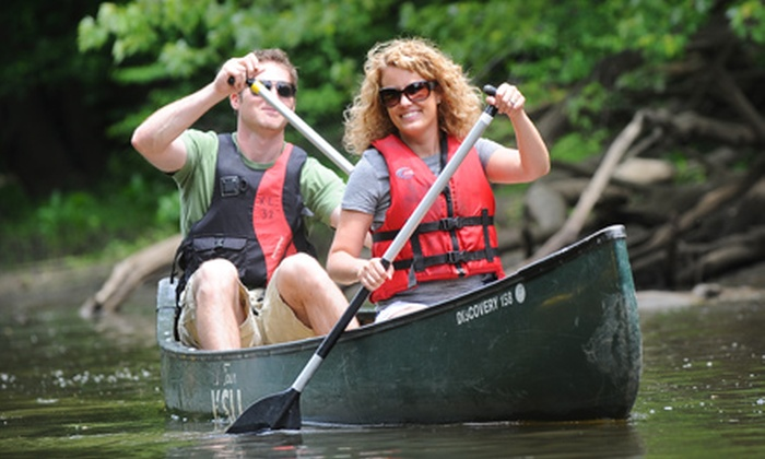 Crooked River Adventures - Kent: Kayak or Canoe Ride on the Cuyahoga River from Crooked River Adventures