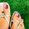 52% Off Glitter-Toes Treatment at Salon Bela