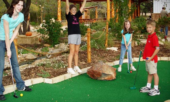 Magic Greens - Dripping Springs: $10 Worth of Miniature Golf