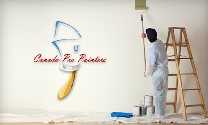 Canada-Pro Painters - Toronto (GTA): $80 for $200 Worth of Interior Painting from Canada-Pro Painters