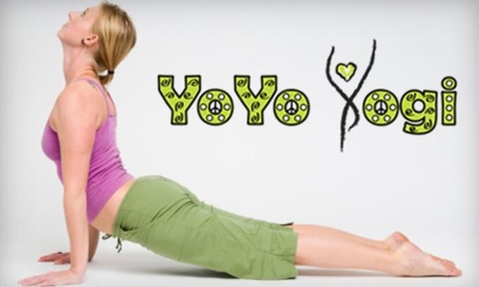 YoYo Yogi - Pearl: $38 for Four Weeks of Unlimited Yoga Classes at Yo Yo Yogi ($128 Value)
