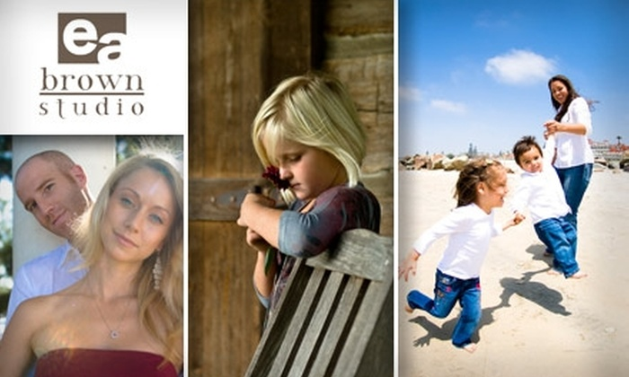 e a brown studio photography - San Diego: $70 for a One-Hour Photography Session and All Digital Images from E A Brown Studio Photography ($275 Value)