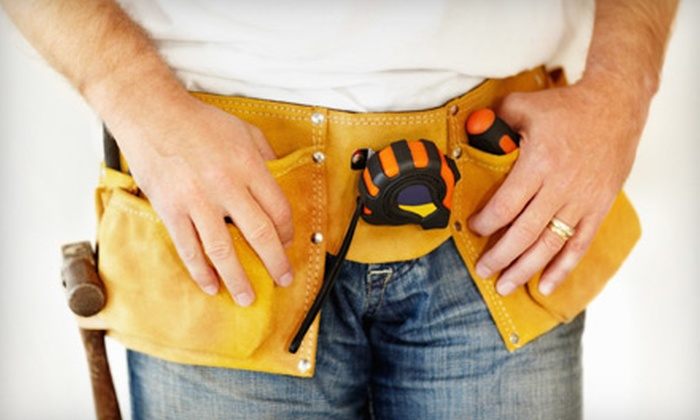 Roof Toppers Home Improvement Services - Downtown: $75 for Two Hours of Handyman Services from Roof Toppers Home Improvement Services ($150 Value)