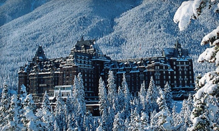 The Fairmont Banff Springs - Banff: Destination Banff: $229 for One-Night Stay Plus Choice of Tri-Area Lift Ticket or $50 Resort Credit at The Fairmont Banff Springs ($498 Value)