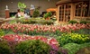 Chicago Flower & Garden Show - Chicago Flower & Garden Show: Chicago Flower & Garden Show at Navy Pier for Two or Four (Up to 55% Off). Five Options Available.