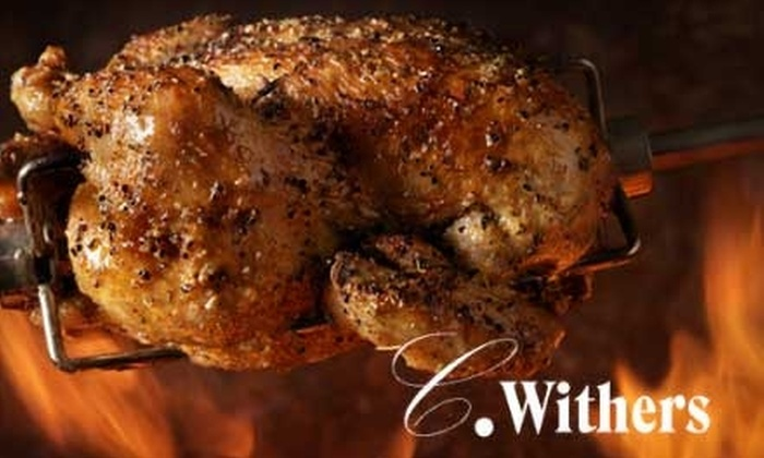 C Withers Restaurant - Hanover Place: $10 for $20 Worth of American Comfort Fare and Beverages at C. Withers Restaurant