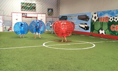 image for One or Two Hours of Bubble <strong>Soccer</strong> and Facility Rental for Up to 10 at Indoor <strong>Soccer</strong> Center (Up to 66% Off)