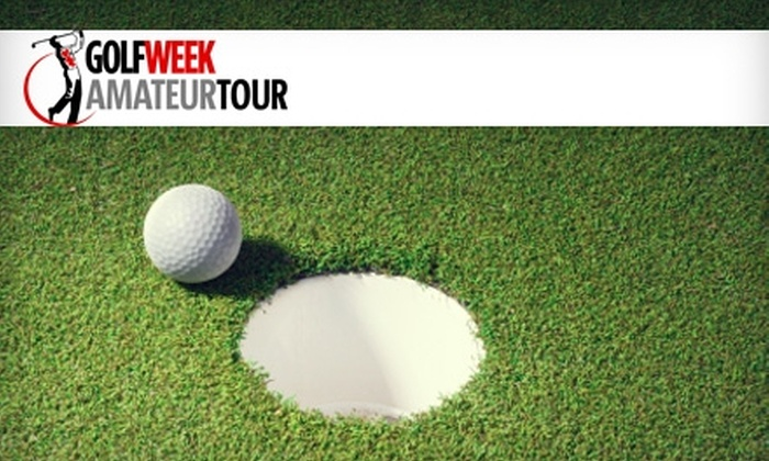 Denver Golfweek Amateur Tour - Multiple Locations: Player Entry into Denver Golfweek Amateur Tour. Choose from Three Tournaments.