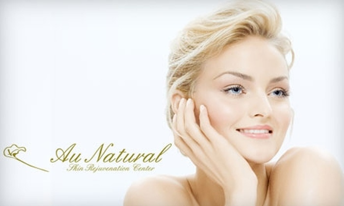 Au Natural Skin Rejuvenation Center - Montclair Business: $50 for a Facial or Back/Chest Treatment at Au Natural Skin Rejuvenation Center in Oakland (Up to $120 Value)