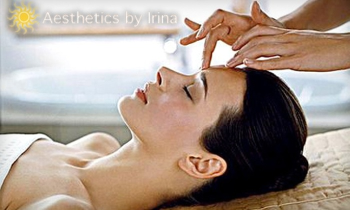 Aesthetics by Irina - Belmont Heights: $20 for an Oxygen Therapy Facial ($40 Value) or $25 for $50 Worth of Sugaring and Waxing at Aesthetics by Irina in Long Beach