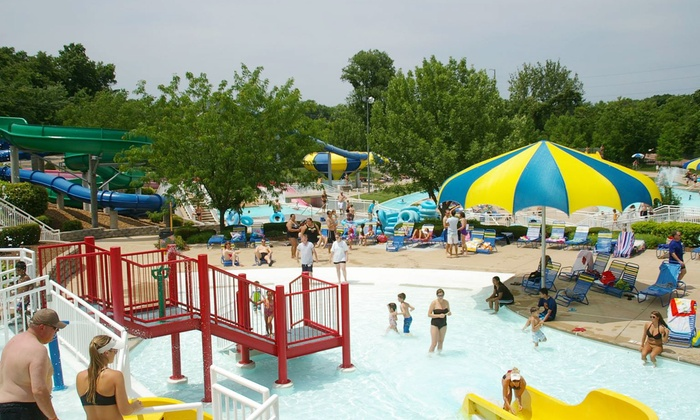 City of Maryland Heights  - Maryland Heights: Non-Resident Adult or Child Water Park Admission at City of Maryland Heights Aquaport(Up to 50% Off)