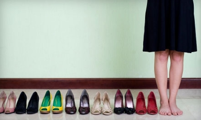 Pix Shoes - Central Business District: $20 for $40 Worth of Footwear, Handbags, and More at Pix Shoes
