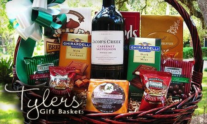 Tyler's Gift Baskets: $25 for Sweet and Salty Basket ($50 Value) or $42