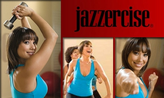 Jazzercise - Multiple Locations: $20 for Ten Jazzercise Classes ($150 Value)