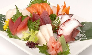 Sake House: Sushi and Japanese Steak-House Cuisine for Two or Four at Sake House (47% Off)