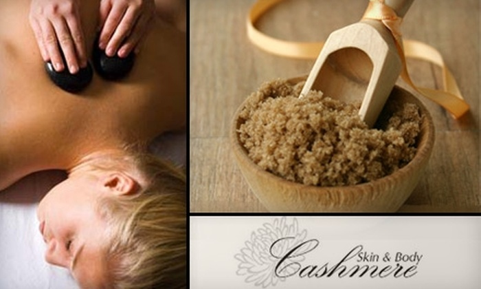 Cashmere Skin & Body - Riverside: $25 for $60 Worth of Skin, Body, and Makeup Services at Cashmere Skin & Body