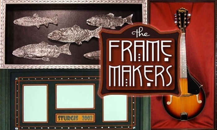 The Frame Makers - North End: $50 for $100 Worth of Custom Framing at The Frame Makers