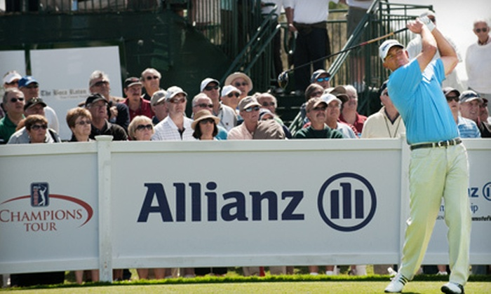 Allianz Championship - Boca Raton: One Ticket to Allianz Championship and Grapes on the Green at The Old Course at Broken Sound on February 11 ($85 Value)
