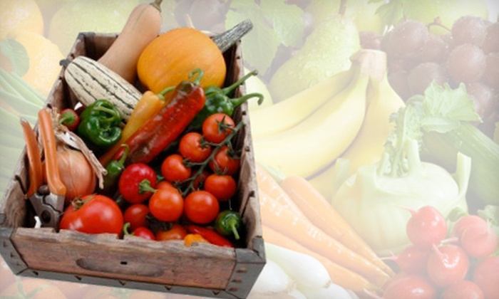 Betty's Organics - San Francisco: $17 for One Box of Organic Fruits and Vegetables with Delivery from Betty's Organics ($34 Value)