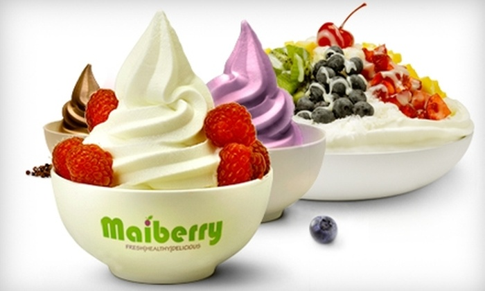 Maiberry - Sugar Land: $5 for $10 Worth of Frozen Yogurt, Smoothies, and More at Maiberry in Sugar Land